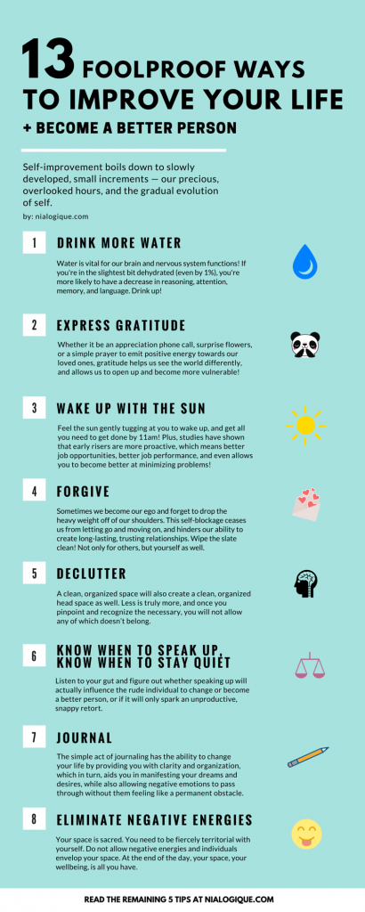 13-Foolproof-Ways-to-Improve-Your-Life-and-Become-a-Better-Person